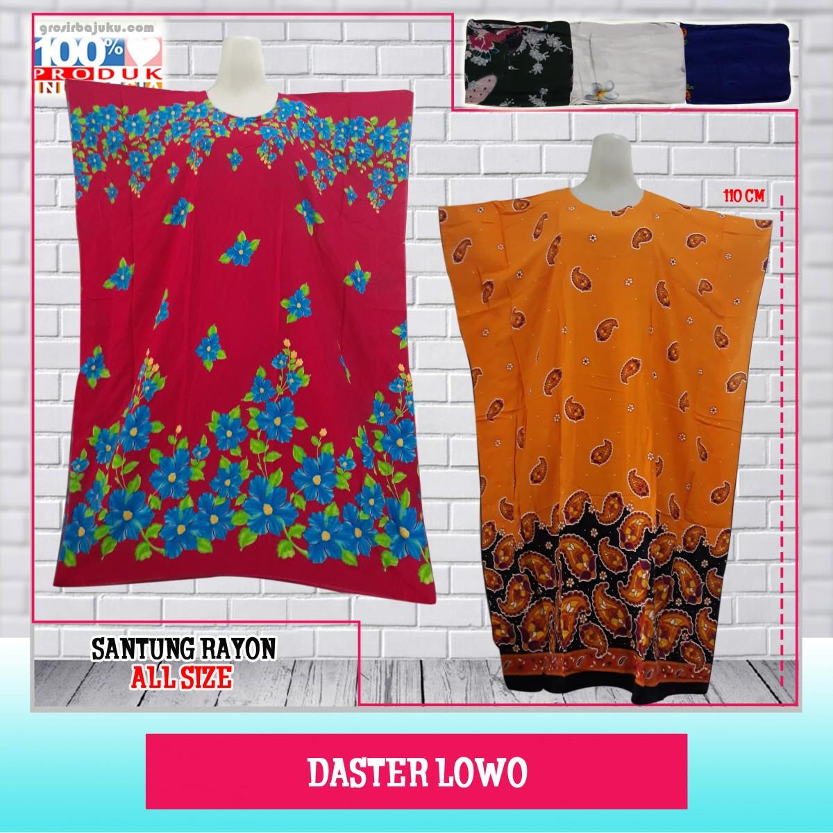 Obral Baju Daster Batik Murah 18ribu Obral Daster Lowo Murah