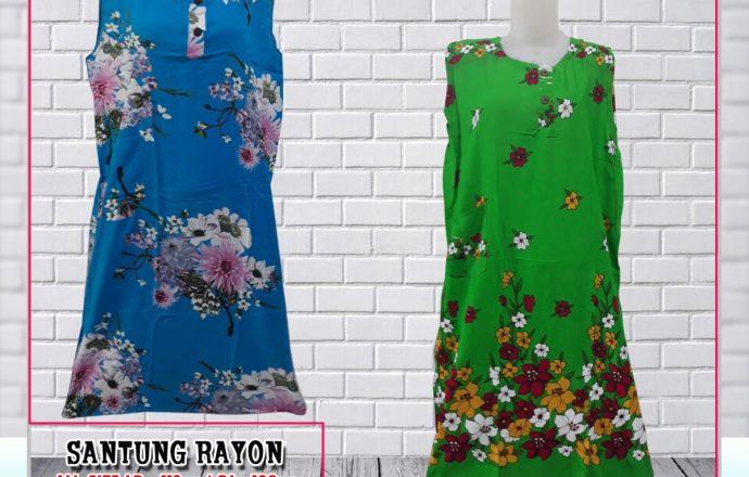 Obral Baju Daster Batik Murah 18ribu Distributor Daster BR Murah