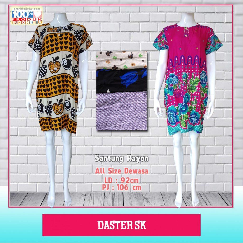 Obral Baju Daster Batik Murah 18ribu Produsen Daster SK Murah