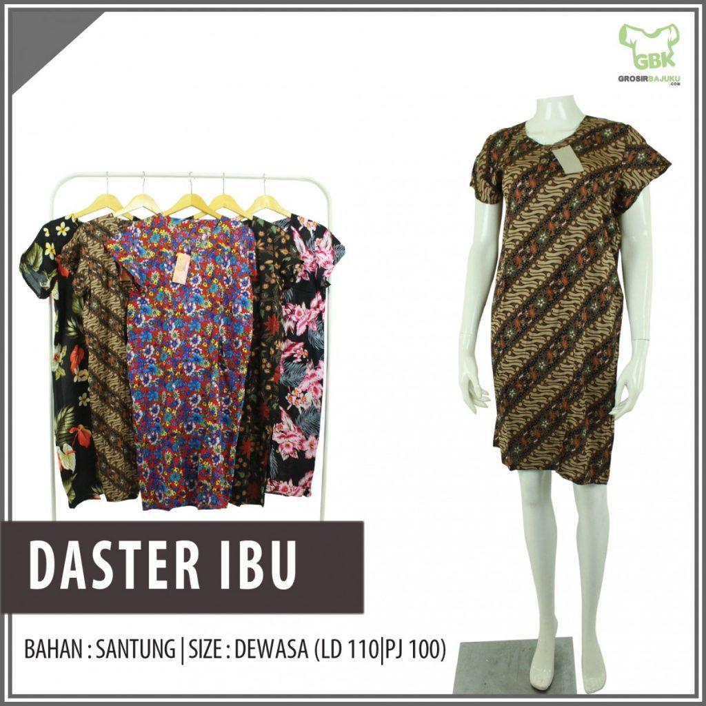 Obral Baju Daster Batik Murah 18ribu Bisnis Daster Ibu Murah di Semarang